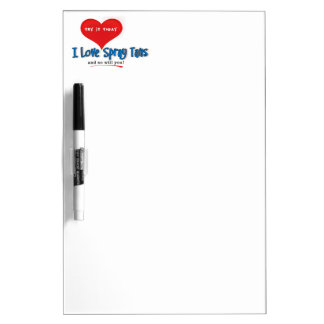 Spray Tanning Gift or Promotional Products Dry-Erase Whiteboard