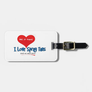 Spray Tanning Gift or Promotional Products Tag For Bags