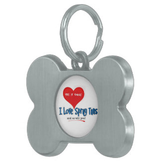Spray Tanning Gift or Promotional Products Pet ID Tag