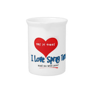 Spray Tanning Gift or Promotional Products Beverage Pitchers