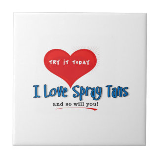 Spray Tanning Gift or Promotional Products Tiles