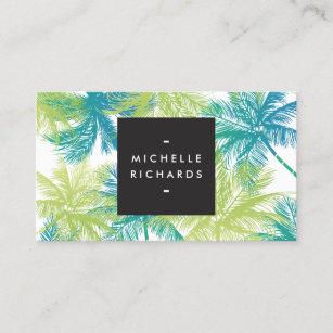 Tanning salon business cards templates zazzle spray tanning salon bluegreen palms business card colourmoves