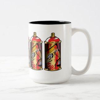 Spraycan mug