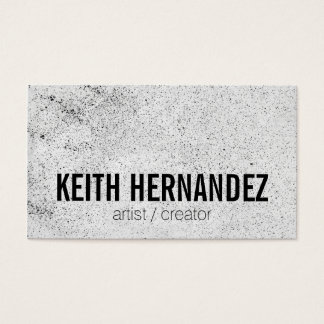 Sprayed / Artistic Business Card