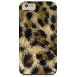 Sprayed Leopard Print iPhone 6 Plus Case