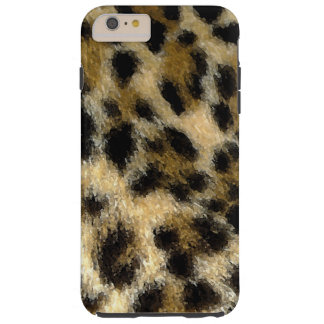 Sprayed Leopard Print iPhone 6 Plus Case