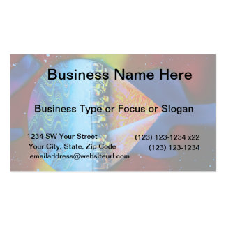 Spraypainting guitar pyramid city water business card