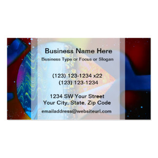 Spraypainting guitar pyramid city water Double-Sided standard business cards (Pack of 100)