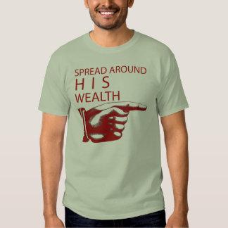Spread around HIS wealth Shirt