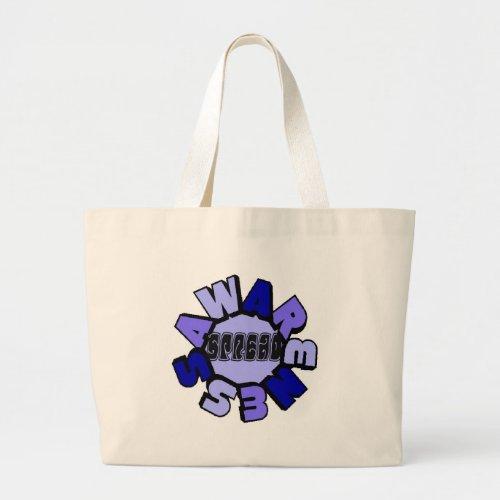 Spread Awareness Beach Bag