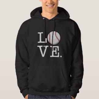 Spread Baseball Love | Baseball Fan Hoodie