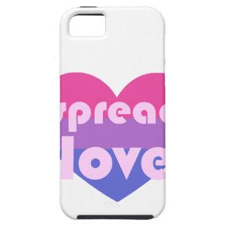 Spread Bisexual Love iPhone SE/5/5s Case