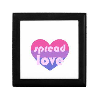 Spread Bisexual Love Jewelry Box