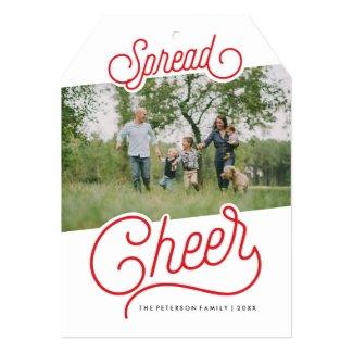 Spread Cheer 5x7 Paper Invitation Card