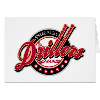 Spread Eagle Drillers Card