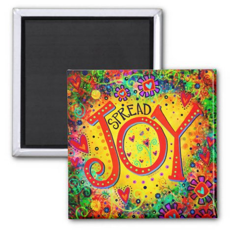 """Spread Joy"" Inspirivity Magnet"
