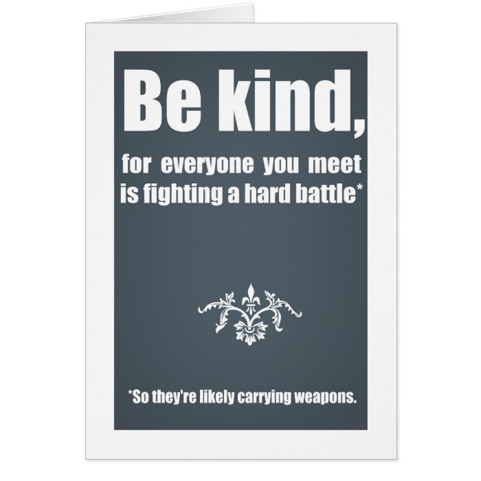 Spread kindness cards