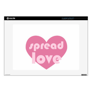 Spread Love (general) Laptop Skins