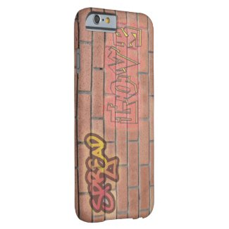 Spread Love Graffiti Sign iPhone 6 Cover