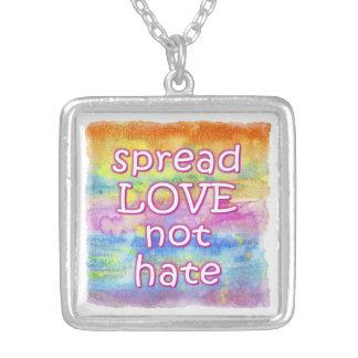 Spread Love Necklace - Square