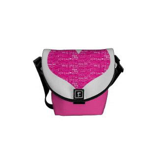 Spread love Rickshaw Messenger Bag