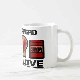 Spread Love With Love Jam Bottle And WW Bread Coffee Mug