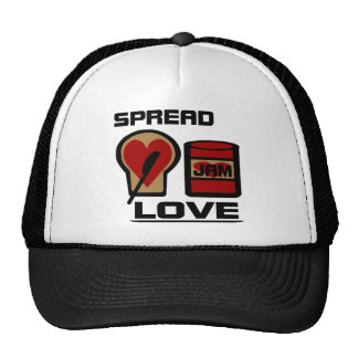 Spread Love With Love Jam Bottle And WW Bread Trucker Hat