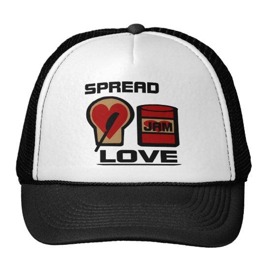 Spread Love With Love Jam Bottle And WW Bread Trucker Hat