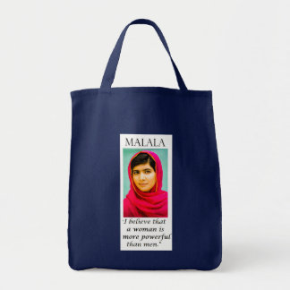 Spread Malala's Message- even at the grocer! Tote Bag