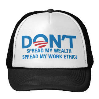 Spread My Work Ethic png Hat