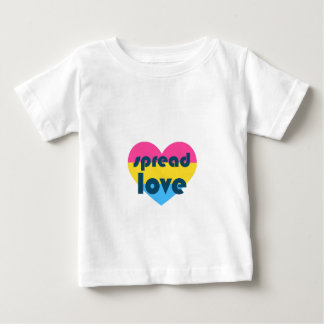 Spread Pansexual Love Baby T-Shirt