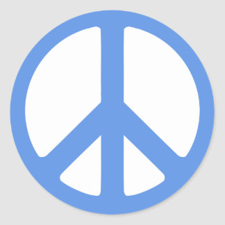 Spread Peace Products Classic Round Sticker