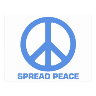 Spread Peace Products Postcard