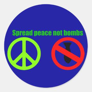 spread peace stickers