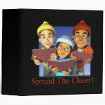 Spread The Cheer 3 Ring Binders