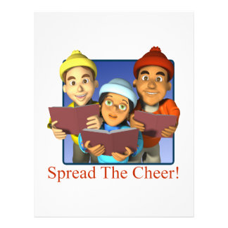 Spread The Cheer Flyers