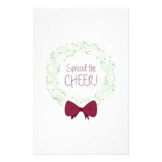Spread The Cheer! Stationery Design