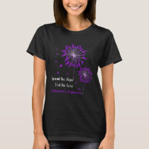 Spread_The_Hope_Find_The_Cure_Alzheimer_s_Awarenes T-Shirt
