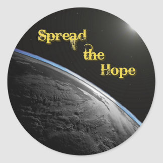 """""""Spread the Hope"""" Stickers (small)"""
