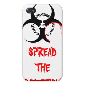 SPREAD THE INFECTION iPhone 4/4S COVER