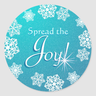 Spread the Joy Christmas Holiday Stickers