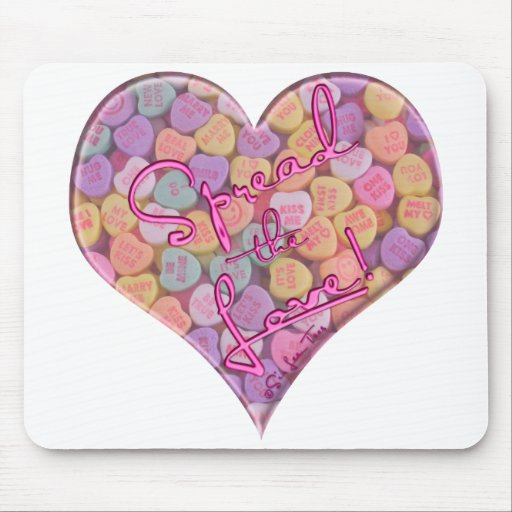 Spread the Love 2 Mouse Pad