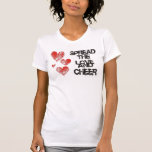 Spread The Love and Cheer Destroyed T-shirt