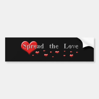 Spread the Love Bumper Sticker