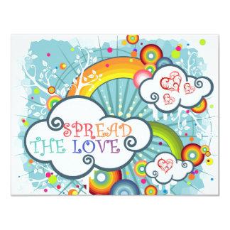 Spread the love card