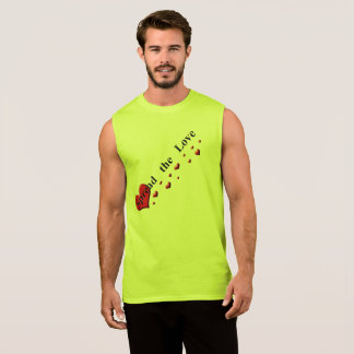 Spread the Love Green Events Sleeveless Shirt