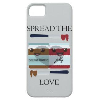 SPREAD THE LOVE JAR iPhone SE/5/5s CASE