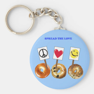 spread the love keychain
