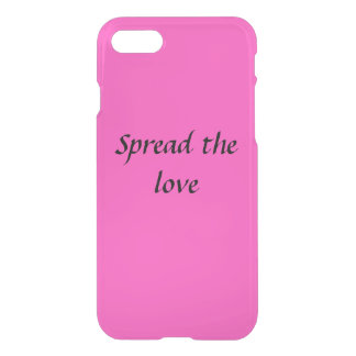Spread the love phone case- iphone 6/6s iPhone 7 case
