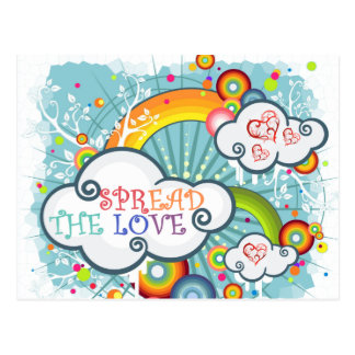 Spread the love postcard